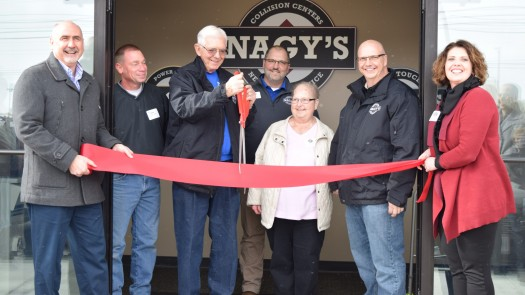 Grand Opening & Ribbon Cutting at Nagy's Collision Express in Orrville