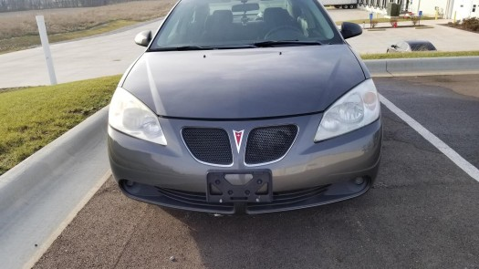 A Photo of the Front of your vehicle, head-on!