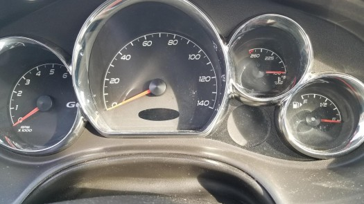 A photo of the Odometer as most insurance companies require your mileage validation.