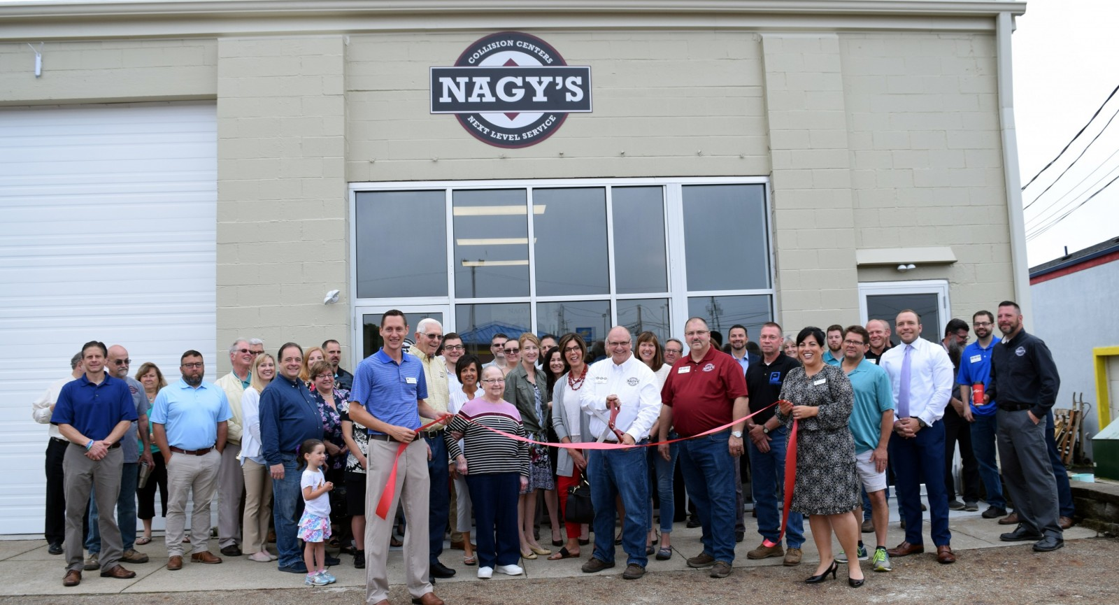 Grand Opening and Ribbon Cutting at Nagys Collision Hartville