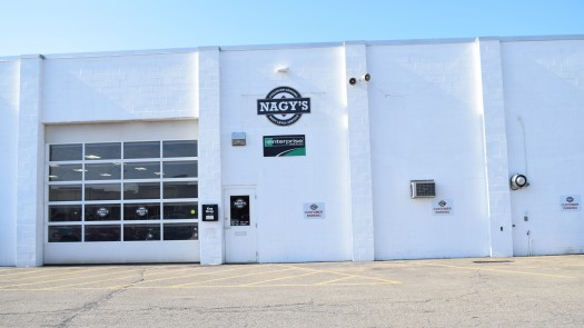 Nagy's Collision Green is located at 3281 S. Arlington Road in Akron