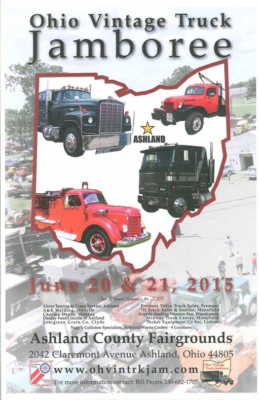 Ohio Vintage Truck Jamboree This Weekend at Ashland County Fairgrounds