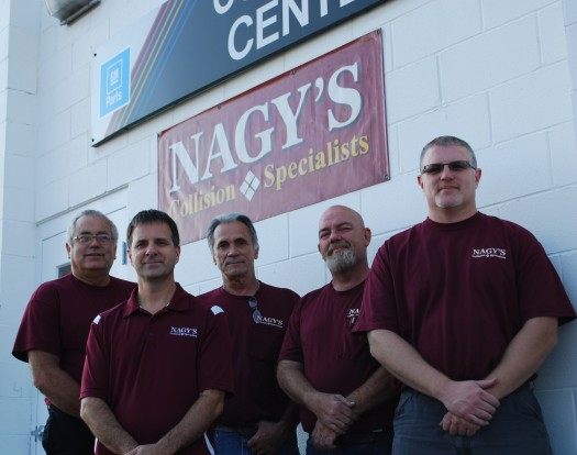 Nagy's Collision Specialists now at Doug Chevrolet 3281 S. Arlington Rd. Akron