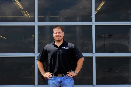 James Kimble, Parts/Production Manager at Nagy's Collision at Doug Chevrolet
