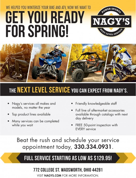 Schedule your Spring Service now and beat the rush!