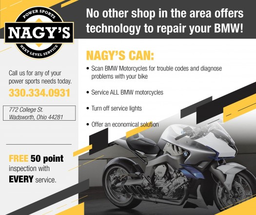 No other shop in the area offers technology to repair your BMW Motorcycle!
