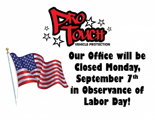 Our Office will be Closed Monday, September 7th for Labor Day