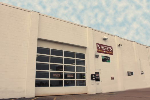 Nagy's Collision Centers at Doug Chevrolet, located on the Green Auto Mile