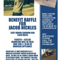 Benefit Raffle for Jacob Nickles