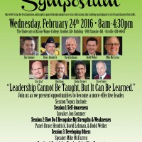 Leadership Symposium, February 24th 2016