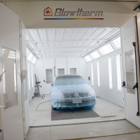 New Paint Booth at Nagy's Collision Centers in Wadsworth
