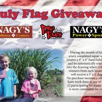 July Flag Giveaway