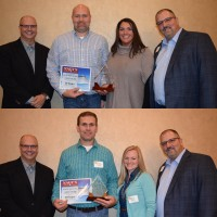 Joe & Jeremy Kenley were recognized for 20 years of service with Nagy's Collision Centers