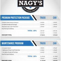 Give us a call to take advantage of our Maintenance Program or our Premium Protection Package!