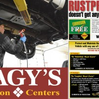 Nagy's Collision Center locations in Doylestown & Millersburg are now offering Corrosion Free Rustproofing.