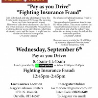 Nagy's Collision Centers is hosting 2 Continuing Education Courses this Fall at their location in Orrville.