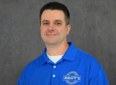 Brian Nagy, Production Manager at Nagys Collision Medina