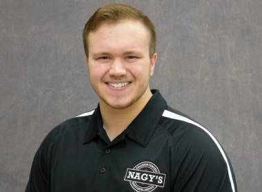 Caleb Gibson, Transporter at Nagy's Collision Orrville